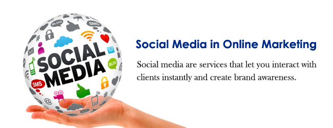 The Role of Social Media in Online Marketing